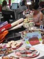 Office Fundraiser - Cake Table