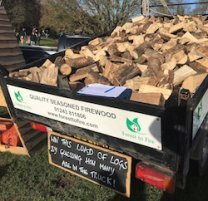 Guess the number of logs fundraiser
