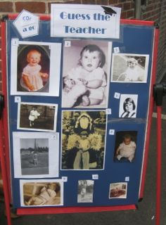 Fundraising Ideas For Schools - Teacher Baby Photo Competition