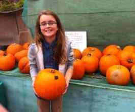 Selling Pumpkins To Raise Money
