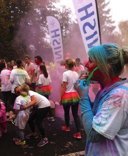 Colour Run Finish