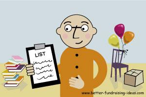 List of Fundraising Ideas