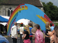Fundraising Event Ideas Rainbow Arch