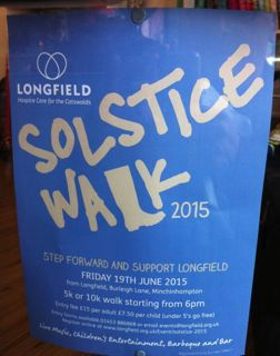 Longfield Solstice Sponsored Walk