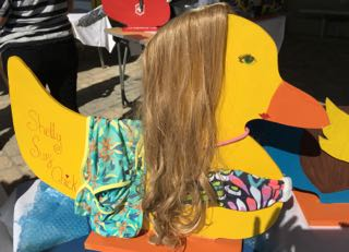 Lyme Regis Carnival Duck Competition Shelly Surf Duck