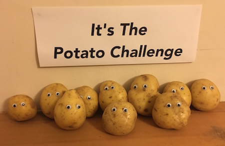 The Potato Challenge Fundraiser