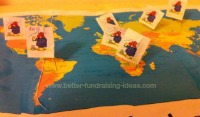 Treasure Map Fundraising Idea