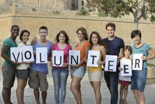 Charity volunteers recruitment
