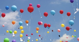 Balloon releases are really bad for wildlife. Fortunately there are lots of alternatives.