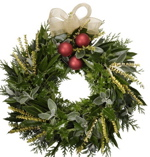 Christmas wreath fundraiser