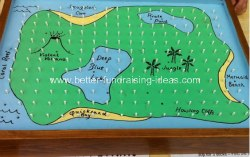 Summer Fair Treasure Map