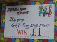 Human Fruit Machine Poster
