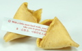 Valentine fortune cookie