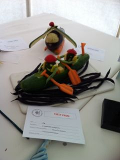 SummerFair - Vegetable Sculpture