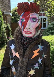 David Bowie Scarecrow