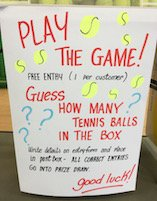 Tennis Ball Fundraiser