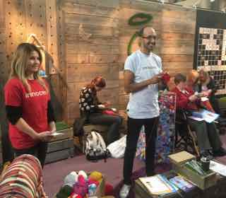 Innocent Big Knit at Knitting and Stitching Show