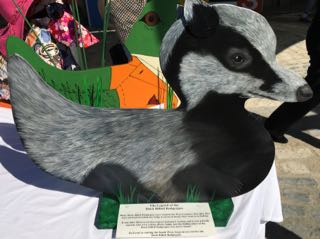 Lyme Regis Duck Competition - Duck Billed Badgerpus