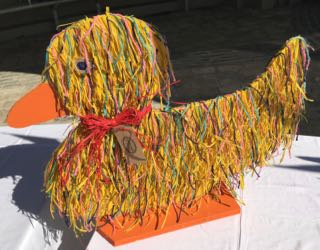 Lyme Regis Duck Competition Hairy Duck