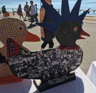 Lyme Regis Ducks - Punk Duck