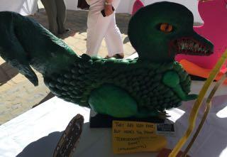 Lyme Regis Duck Competition Terrorducktyl