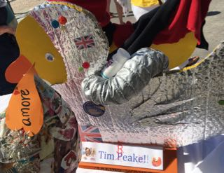 Lyme Regis Duck Competition Tim Beake