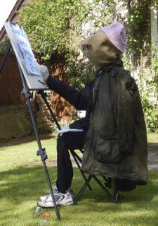 Artist Scarecrow