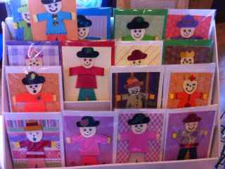 Scarecrow Greetings Cards