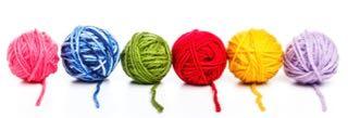 Knitting Wool Balls