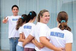 Recruiting friends to volunteer