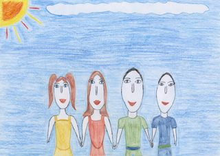 Children's art exhibition