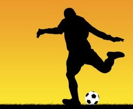 Sports fundraising kick a ball challenge