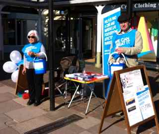 charity street collection