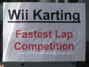 Nintendo Wii Fundraising
